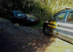 PRF recupera mais um veículo roubado na BR-470 em Bento