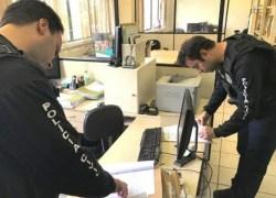 Operação policial desarticula quadrilha que atua em crimes contra administração pública