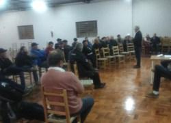 Abastecimento de água foi tema de encontro na comunidade São Pedro