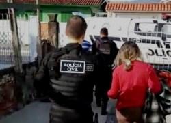 Polícia Civil prende em SC casal suspeito de esquartejar homem em Caxias do Sul
