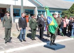 Cerimônia marca o Dia do Soldado em Bento