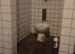 Banheiros da Praça Walter Galassi são depredados em Bento