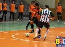 Liga Municipal de Futsal com jogos nesta terça-feira no ginásio de esportes