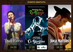 """Semana Farroupilha: """"Dança, Música e Tradição"""" é domingo na Rua Coberta em Bento"""