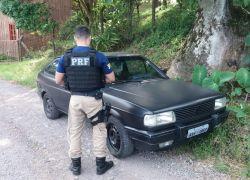 PRF recupera veículo roubado em Bento Gonçalves