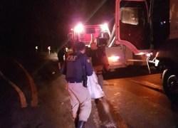 PRF atende acidentes na BR-470 entre Veranópolis e Nova Prata