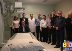Inaugurado o novo laboratório de Raio-X digital de Bento Gonçalves