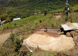 Caixa d'água é furtada na comunidade de Navegantes em Cotiporã