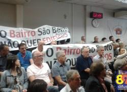 Revisão do novo Plano Diretor é debatido em audiência na Câmara de Bento