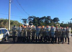 Efetivos dos POEs da Brigada Militar realizam treinamento em Caxias do Sul