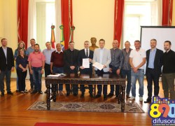 Prefeitura de Bento amplia e renova contrato de prestação de serviços com o Tacchini