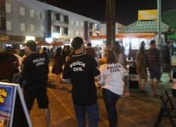 Polícia Civil participa de operação para coibir venda de bebidas alcóolicas para crianças e adolescentes no litoral norte