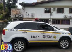 Foragido é recapturado no bairro juventude em Bento