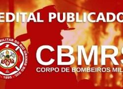 Publicado no Diário Oficial do Estado concurso para Oficial do CBMRS