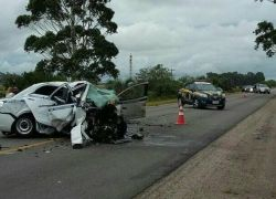 Sete pessoas morrem em acidente em Santa Vitória do Palmar