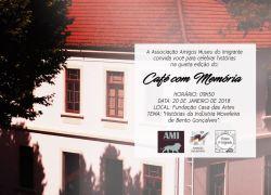Café com Memória ocorre sábado em Bento