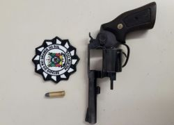 Casal é preso por posse irregular de arma de fogo em São Marcos