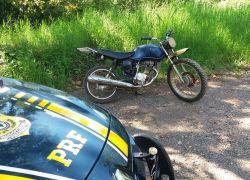 PRF aprende moto adulterada em Bento Gonçalves