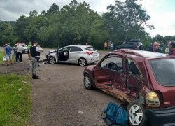 Idoso morre em acidente com veículo de Santa Tereza na ERS-129 em Muçum