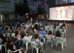 Cinema de Rua prossegue em fevereiro em Bento