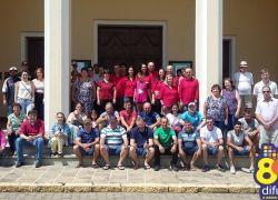 Organizadores da Festa em Honra a São Brás e São Cristóvão de Monte Belo confraternizam