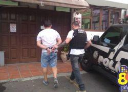 Ação da Polícia Civil, Brigada e PRF prende em Garibaldi suspeito de roubo a carro-forte