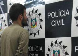 Homem é preso por diversos furtos e roubos em Vacaria