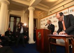 Sancionada lei que autoriza adesão do RS ao Regime de Recuperação Fiscal