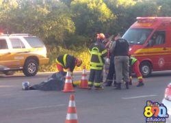 Identificado vítima de acidente fatal na RSC-453 em Garibaldi