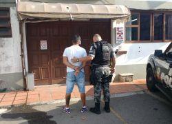 Foragido é preso no Juventude em Bento