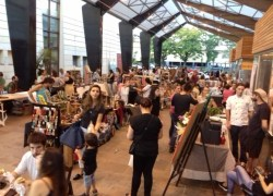 Mercado de Rua atrai 3 mil pessoas na rua Coberta