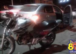 Motociclista fica ferido em acidente no bairro Planalto em Bento