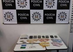 Defrec de Caxias prende homem por tráfico de drogas