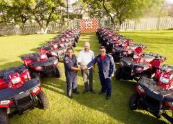 CBMRS recebe novo lote de quadriciclos operacionais