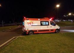Colisão entre carro e moto deixa dois feridos no acesso à Pipa Pórtico na BR-470 em Bento