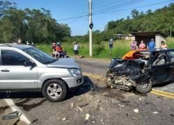 Cinco pessoas ficam feridas em acidente de trânsito em São Sebastião do Caí