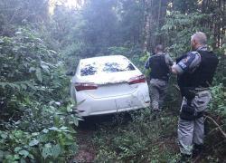 Brigada Militar localiza veículo utilizado em assalto à banco em São Valentim do Sul