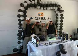 Soldados aparecem de surpresa em aniversário de menino que sonha em ser policial militar em Serafina Corrêa
