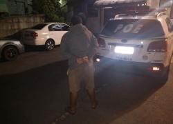 POE prende homem por tráfico de drogas nos Eucaliptos em Bento