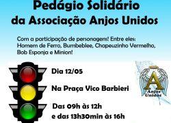 Anjos Unidos realiza pedágio solidário em Bento