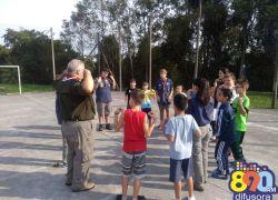 Escoteiros realizam ação educacional no Santa Marta em Bento