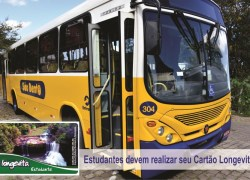 Estudantes devem realizar cadastro para utilizar o transporte público em Veranópolis