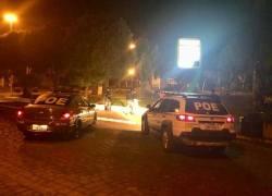 POE realiza operação próximo de bares, casas noturnas e localiza drogas em Nova Prata