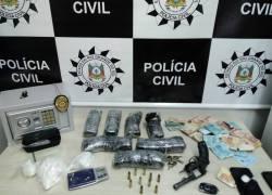 Polícia Civil prende homem, apreende arma e cocaína no Goretti em Bento