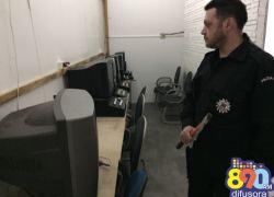 Polícia Civil desarticula casas de jogos de azar em Bento