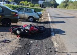 Motociclista morre em acidente na ERS-122 em Antônio Prado