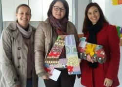 Biblioteca Pública realiza doação de livros para escolas infantis em Bento