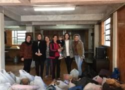 Campanha do Agasalho efetua distribuição no bairro Ouro Verde em Bento