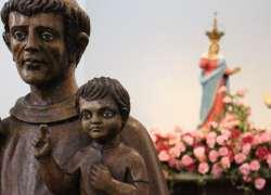 Santuário de Caravaggio acolhe a visita de imagem de Santo Antônio