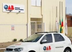 Fiscalização por exercício ilegal na advocacia é realizada em Bento